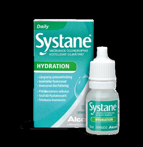 Systane Hydration kostettava silmätippa 10 ml