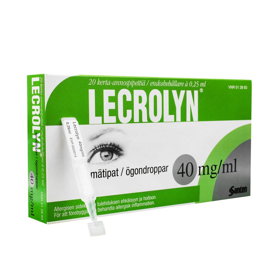 allergi ögondroppar linser