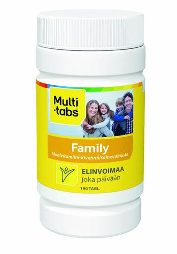 Multi-tabs Family 190 tabl.