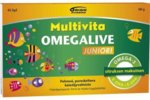 Multivita Omegalive Junior 45 geltabl.