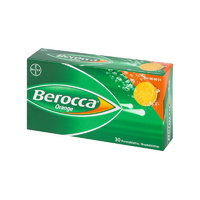 BEROCCA ORANGE monivitamiini 30 poretablettia