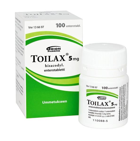 toilax tabletter verkningstid