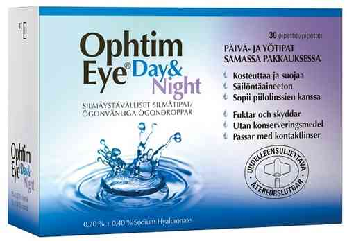 Ophtim Eye Day & Night silmätipat 30 x 0,5 ml