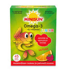 Minisun Omega-3 junior gelébit 45 st