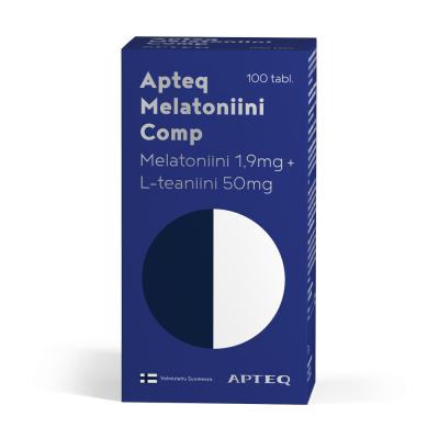 Apteq Vita Melatoniini Extra 1,9 mg 100 purutablettia
